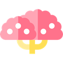 Tree, ecology, magnolia, nature, Botanical LightCoral icon