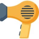 Tools And Utensils, Hairdressing, technology, Dryer, hair dryer SandyBrown icon