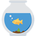 Aquarium, fish, pet, Animals, Sea Life, Aquatic Gainsboro icon