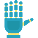 digital, Multimedia, electronic, technology, Augmented Reality, Wired Gloves, virtual reality LightSeaGreen icon