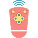 buttons, Remote control, technology, Console, Technological LightCoral icon
