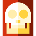 X Ray, Skeleton, Bones, technology, X Rays, medical Firebrick icon
