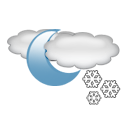 night, Flurry CadetBlue icon