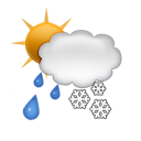 wet, Flurry SandyBrown icon