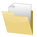 Extra, Folder Khaki icon