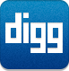 Digg DarkCyan icon