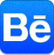 behanced DodgerBlue icon