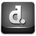 Scribd DimGray icon