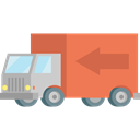 transport, vehicle, Delivery Truck, Delivery, truck, Cargo Truck, Automobile Black icon