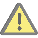 signs, Attention, warning, Error, notice Khaki icon