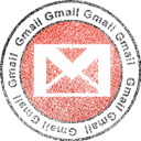 gmail Black icon