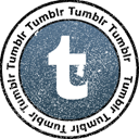 Tumblr Black icon