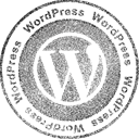Wordpress Black icon