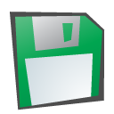 childish, Floppy, Disk SeaGreen icon