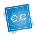 Blueprint, Social Black icon