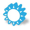 part, mono, Super DodgerBlue icon