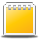 notepad Gold icon