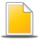 File Gold icon
