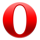 Opera, mini Black icon