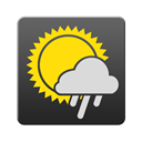 weather DarkSlateGray icon
