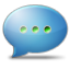 Chat SteelBlue icon