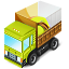truck, loaded GreenYellow icon