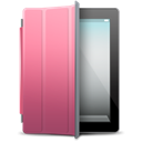 ipad, pink, Black, Cover Black icon