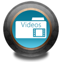video, Color, wood Black icon