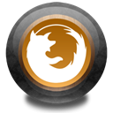 Firefox, Color, wood Black icon