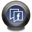 wood, Facebook, Color DarkSlateGray icon