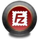 Color, Filezilla, wood Black icon