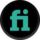 Fiverr Black icon