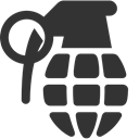 Grenade DarkSlateGray icon