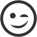 wink DarkSlateGray icon