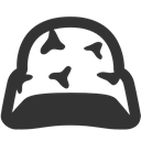 helmet DarkSlateGray icon