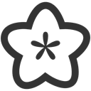 Flower DarkSlateGray icon