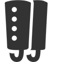 gaiter DarkSlateGray icon