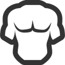 Torso DarkSlateGray icon