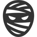 mummy DarkSlateGray icon
