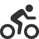 regular, Biking DarkSlateGray icon