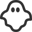 Ghost DarkSlateGray icon