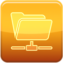 File, Hide Goldenrod icon