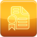 Publish Goldenrod icon
