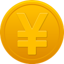 yuan, coin Orange icon