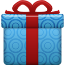 gift SteelBlue icon