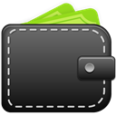 wallet DarkSlateGray icon