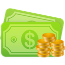 Cash YellowGreen icon