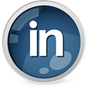 Linkedin DarkSlateGray icon