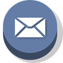 Email, Buttonz LightSlateGray icon