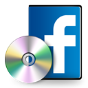 Facebook, case, Dvd Black icon